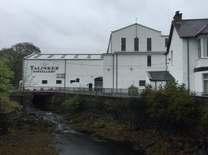 The Talisker distillery